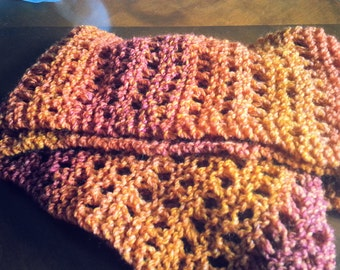 Fall colors scarf
