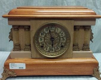 Seth Thomas 1880 double column mantle clock