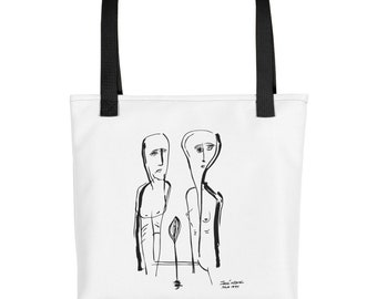 The Last Tree Printed Tote bag
