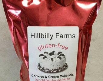 Gluten Free Cookies & Cream Cake Mix