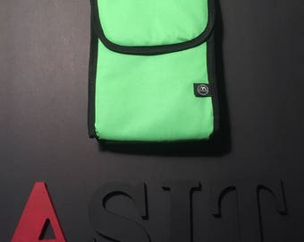 Insulated Lunch Pack Tote Lime Green     ***FREE EMBROIDERY PERSONALIZATION of name or business name *special of the week*