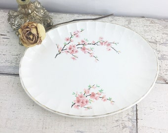 Vintage Cherry Blossom W.S George Platter