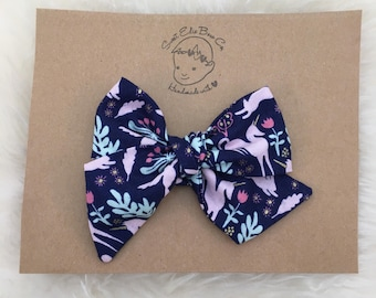 Woodland Whimsy Pinwheel Bow