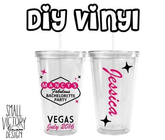 Las Vegas Bachelorette Custom Vegas Las Vegas Sign DIY - Custom vinyl decals las vegas