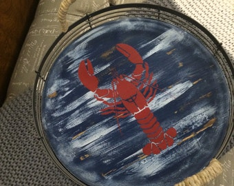 Decorative Tray. Lobster