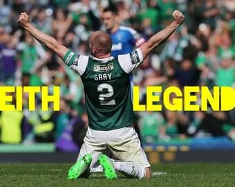"""Hibernian FC Leith Legends """"Sir David Gray"""""""