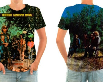 CREEDENCE CLEARWATER REVIVAL shirt all sizes