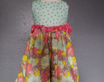 4T girls spring dress
