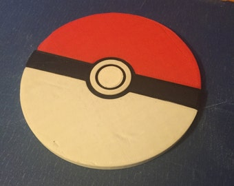 3D Printed Pokemon-Pokeball Coaster!