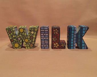 Mosaic Letters.