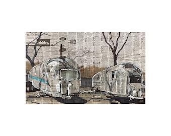 Airstreams art print
