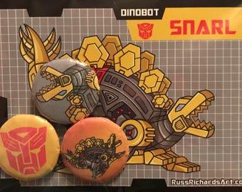 Snarl Button or Magnet Set