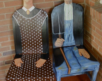 American Gothic chairs