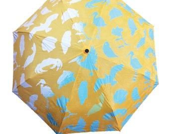 Yellow Wet & Reveal Umbrella