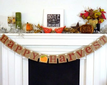 Thanksgiving Decorations Banner   Gobble Gobble Banner   Thanksgiving  Decorations   Holiday Decorations   Thanksgiving Decor