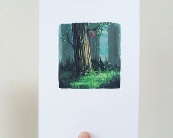 Enchaned Forest Print