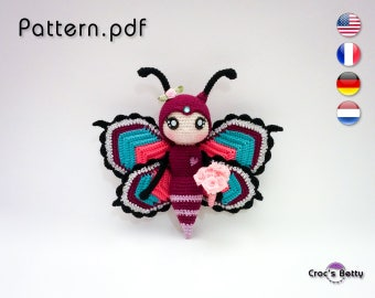 Pattern - Peanut the Butterfly