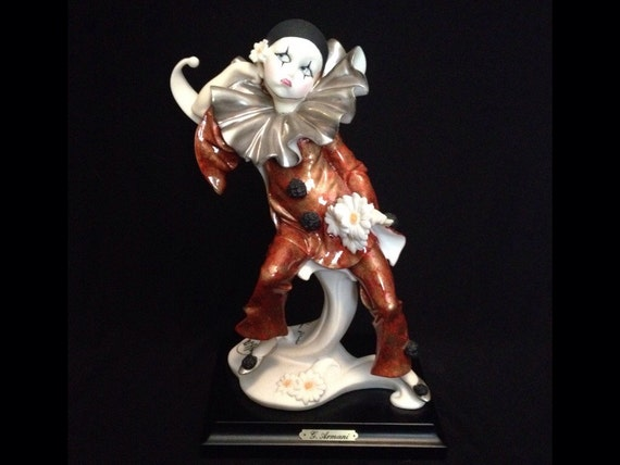 FREE SHIPPING-Fabulous-Made In Italy-Giuseppe Armani-Signed-745-E-Ruffles-Redemption Figurine-Sculpture