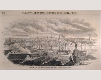 Baltimore - Maryland - 1853