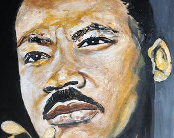 Dr. Martin Luther King Jr. Signed 11x14 Print