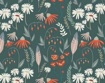 Cotton Fabric - Wild Gatherings - Woodlands Fusion- Art Gallery Fabrics