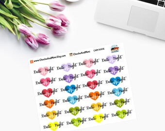 DATE NIGHT Planner Stickers CAM00216