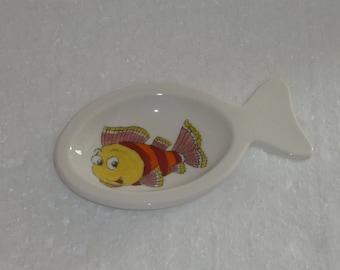 Amuse-bouche en forme poisson , décoration poissons rigolos