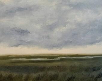 Louisiana Salt Marsh - Oil Painting