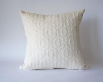 Matelasse Cushion Cover Ivory