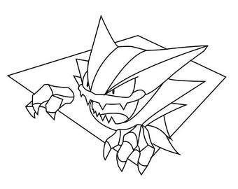 haunter stained glass pattern