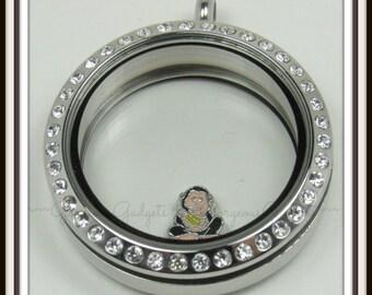 Monkey Floating Charm for Glass locket / Floating Locket / Memory Locket