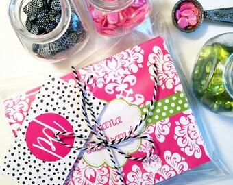 Damask Note Cards, damask Stationery, damask, Monogrammed Stationery, Personalized Note Cards, Personalized Stationery, Notecards
