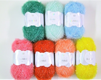 Yarn 50 g / 90m for knitting and crocheting sponges