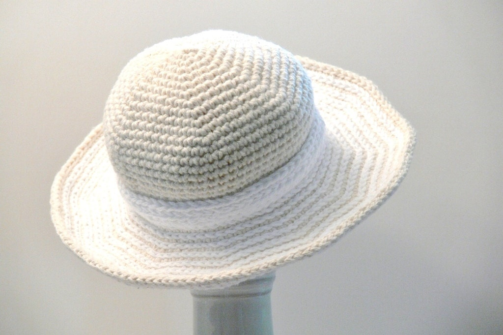 Crochet Pattern Womens Hat Sun Hat Winter Hat Summer