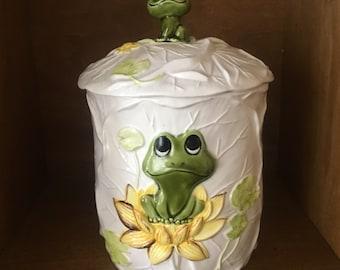 Neil the Frog Sears Roebuck Cookie Jar