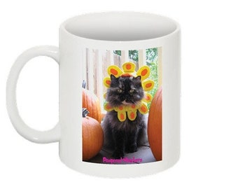 Cat Lover Ceramic Coffee Mug - Late Bloomer cat coffee mug