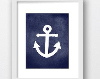 Anchors Prints, Anchor Nautical Art Digital Download Print, Digital Anchor Prints, Boat Anchors Prints,Marine Decor, Nautical Prints