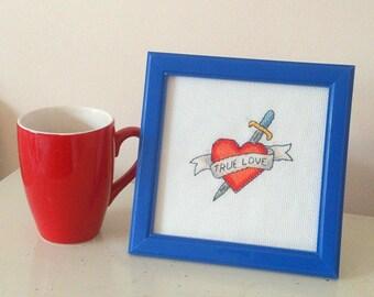 True Love - Cross Stitch Pattern