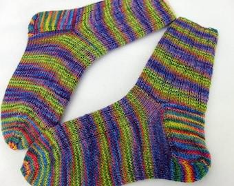 Hand Knit Socks  for Women UK 5-7, US 7-9  Nr.11