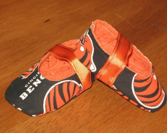 newborn unisex fabric sports baby shoes - Bengals