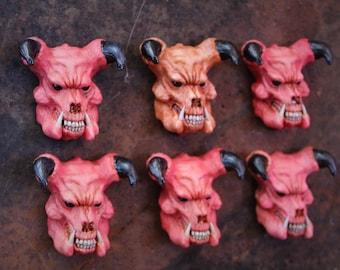 Doom resin magnet 'Baron of hell' Doom 2 Red version