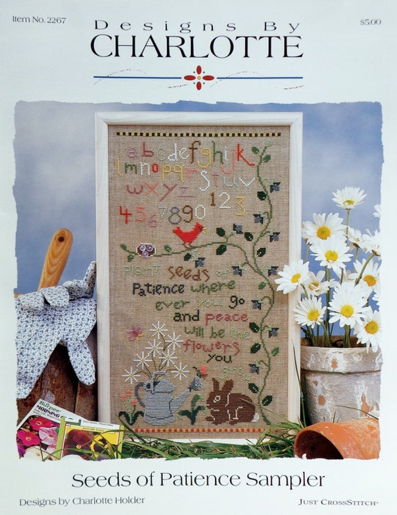 Designs By Charlotte Holder Seeds Of Patience Sampler By Symbol Of