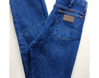 Vintage 70s High Waisted Straight Leg Wrangler Jeans