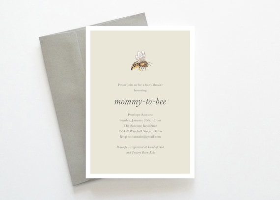 Mommy to bee baby shower mommy to bee invitations gender like this item filmwisefo Choice Image