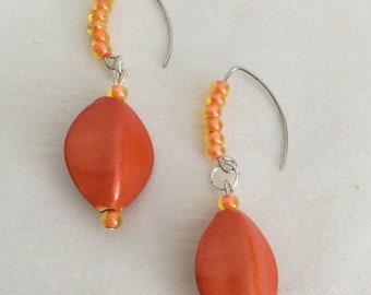 Sunkist Drop Earrings