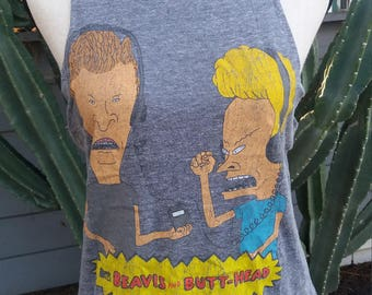 Vintage 90's Beavis and Butthead t shirt