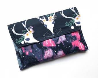 Nappy Wallet, Nappy Clutch, Diaper Wallet, Diaper Clutch, Newborn Gift, Baby Shower Gift