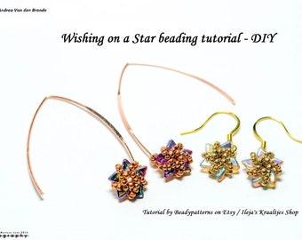 Wishing on a star earring tutorial - DIY