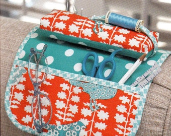 SIT & STITCH Pincushion - Armrest Sewing Caddy   By: Cindy Taylor Oates