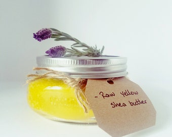 Yellow Raw Shea Butter